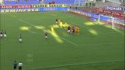 Rafael neutralizza la punizione di Totti