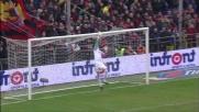 Storari non si fa sorprendere dal tiro deviato di Kharja e salva la Juventus