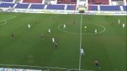 Rossettini viene espulso allo scadere per fallo in area su Eder in Cagliari-Sampdoria
