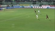 Paulinho segna il goal del momentaneo vantaggio sul Milan