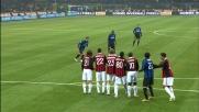 La punizione deliziosa di Pandev affonda il Milan nel derby
