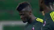 Niang segna il secondo goal del Milan a Palermo