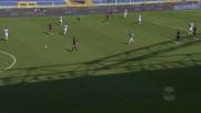 Mano galeotta di Zampano contro il Genoa non vista dall'arbitro