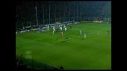 Daniele Capelli di testa fa goal al Cagliari e pareggia i conti per l'Atalanta