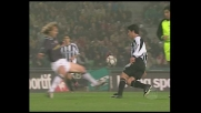 Nedved in tackle su Pizarro, atterrato l'avversario dell'Udinese