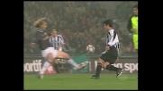 Nedved in tackle su Pizarro, atterrato l'avversario dell'Udinese