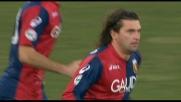 La punizione di Milanetto castiga Gillet: pareggio del Genoa