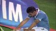 Djordjevic supera Viviano ma non riesce a concludere verso la porta blucerchiata