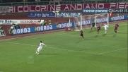 Con un pò di fortuna Balotelli realizza il primo goal al Livorno