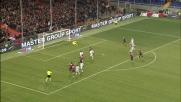 Marassi festeggia il goal dal dischetto di Acquafresca