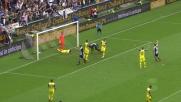 Udinese avanti sul Chievo con il goal di testa di Zapata