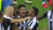 Udinese in vantaggio sull'Empoli: la sblocca Felipe