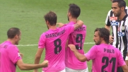 Udinese-Juventus 0-2: il goal di Vucinic al Friuli