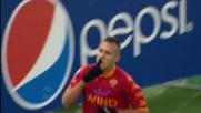 Menez incanta l'Olimpico con un goal fantastico contro il Cagliari