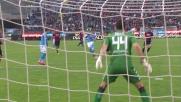 Gabbiadini porta a 3 i goal di vantaggio per il Napoli a Cagliari