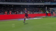 Un freddo Candreva gela il San Paolo con un goal in contropiede