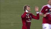 Un goal di rapina di Maxi Lopez permette al Milan di riacciuffare l'Udinese