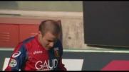 Un goal fortunoso di Palacio mette in ginocchio il Cagliari