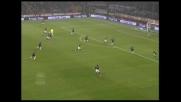 Un gran goal di testa di Gilardino riporta il Milan in partita nel derby