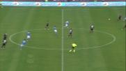 Un grande anticipo di Tonelli nega il goal ad Insigne