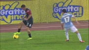 Un ispirato Cossu mette in difficoltà la difesa della Lazio