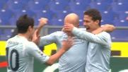 Un preciso tiro di sinistro di Hernanes vale il goal dell'1-0 all'Udinese