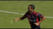 Un rigore di Jeda porta avanti il Cagliari sull'Inter