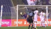 Un super goal di Lulic porta in vantaggio la Lazio contro la Fiorentina
