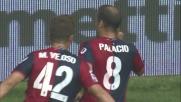 Un super goal di Palacio porta in vantaggio il Genoa in casa contro il Bari