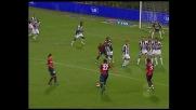 Un super Handanovic devia la punizione di Borriello contro il palo