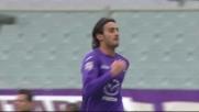 Un tap-in di Aquilani regala il goal dell'1-0 alla Fiorentina contro il Genoa