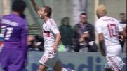 Un tap-in di Flamini raddoppia il vantaggio del Milan sulla Fiorentina