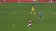 Un tiro insidioso di Muntari per il goal vittoria del Milan contro il Chievo