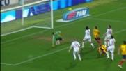 Una grande parata di Amelia salva il Milan dal goal di Giacomazzi