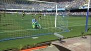 Una parata incredibile di Gollini nega il goal a Gabbiadini in Napoli-Verona