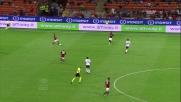 Una rabona di Balotelli lancia Matri nell'area del Cagliari