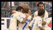 Una saetta di Marcolini vale il goal del pareggio per il Chievo a Cagliari