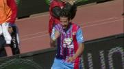 Un'incornata sontuosa di Spolli vale il goal del 2-1 sulla Lazio