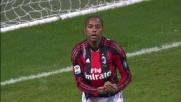 Uno straripante Ibrahimovic consegna a Robinho la palla per il goal del 3 a 1 al Palermo