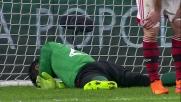 Uno strepitoso Diego Lopez si oppone da solo per due volte all'attacco del Genoa