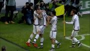 Lo Stadium festeggia il goal di Bonucci contro il Verona