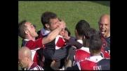 Acquafresca, goal da fuori area per il Cagliari col Torino