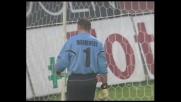 Uscita tempestiva di Manninger contro l'Udinese