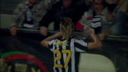 Krasic si avventa sul pallone e firma un goal importantissimo contro il Cagliari