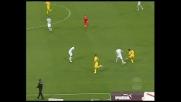 Alexis Sanchez gioca di tacco contro la Lazio