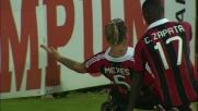 Mexes segna il goal vittoria del Milan contro il Siena