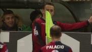 Rafinha segna il goal della vittoria del Genoa nel derby della Lanterna