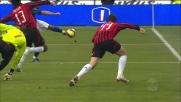 Traversa di Jimenez! Il Milan soffre nel derby