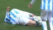 Weiss si guadagna un penalty con il Bologna