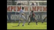 Grosso realizza il goal del pari per l'Inter a Cagliari